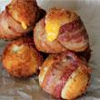 Baconben sült krumplipüré