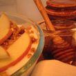 Pecorinós almás-diós palacsinta