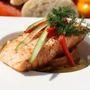 Mediterrán roston sült hal zöldségekkel