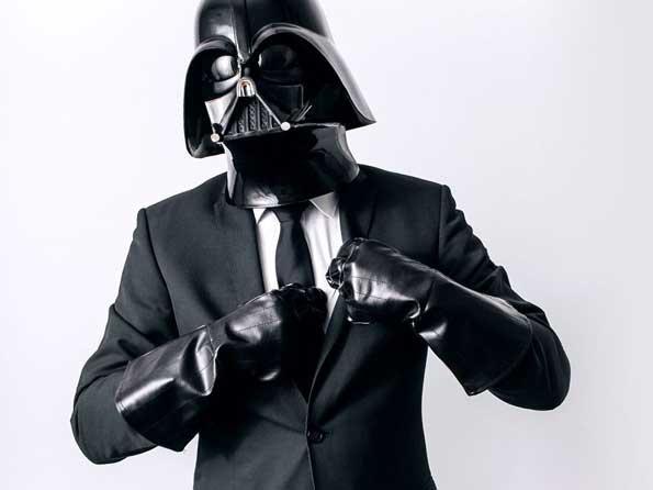 Így élne a civil Darth Vader