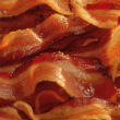 Krumplipüré baconben